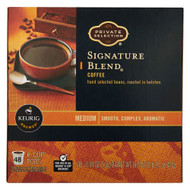 Private Selection Coffee K-Cup Packs Signature Blend -- 48 K-Cups