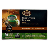 Private Selection Coffee K-Cup Packs Mountain Blend -- 12 K-Cups