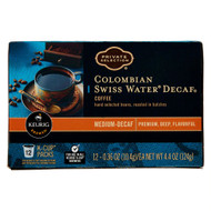 Private Selection Coffee K-Cup Packs Colombian Swiss Water Decaf -- 12 K-Cups