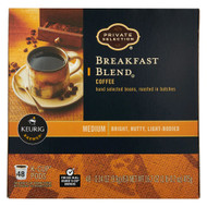 Private Selection Coffee K-Cup Packs Breakfast Blend -- 48 K-Cups