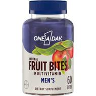 One-A-Day Fruit Bites Men Multivitamin -- 60 Bites