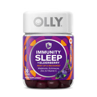 Olly Immunity Sleep + Elderberry - Midnight Berry -- 36 ct