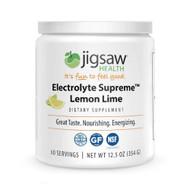 Jigsaw Health Electrolyte Supreme Jar Lemon Lime -- 60 Servings