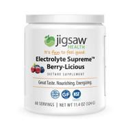 Jigsaw Health Electrolyte Supreme Jar Berry-Licious -- 60 Servings