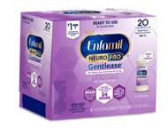 Enfamil NeuroPro Gentlease Infant Formula Ready-To-Use Bottles -- 2 fl oz Each - Pack of 6