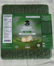 3 PACK OF WrawP Coco Nori Organic Coconut Wraps Spirulina -- 5 Wraps