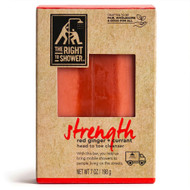3 PACK OF The Right To Shower Strength Bar Soap Red Ginger Currant -- 7 oz