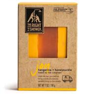 3 PACK OF The Right To Shower Joy Bar Soap Tangerine Honeysuckle -- 7 oz