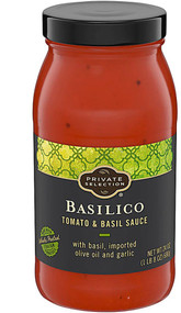 3 PACK OF Private Selection Tomato and Basil Sauce Basilico -- 24 oz