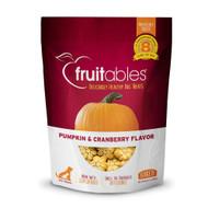 3 PACK OF Fruitables Baked Dog Treats Pumpkin & Cranberry -- 7 oz