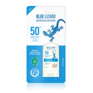 3 PACK OF Blue Lizard Australian Sensitive Sunscreen Stick SPF 50 -- 0.5 oz
