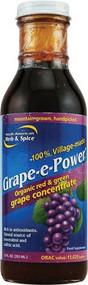 North American Herb & Spice Grape-E-Power Grape Concentrate -- 12 fl oz