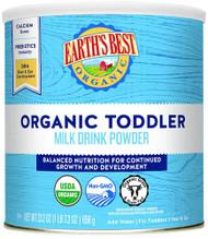Earths Best Organic Toddler Formula Milk Drink Powder Vanilla -- 23.2 oz