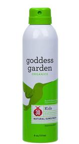 Goddess Garden Organics Kids Natural Sunscreen SPF 30 Continuous Spray -- 6 oz