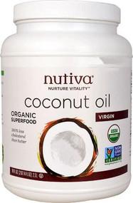Nutiva Organic Virgin Coconut Oil -- 78 fl oz