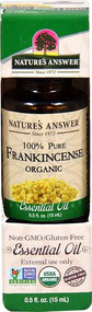 Natures Answer 100% Pure Organic Essential Oil Frankincense -- 0.5 fl oz