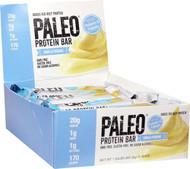 Julian Bakery Grass Fed Beef Paleo Protein Bar Vanilla Pudding -- 12 Bars