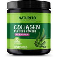 NATURELO Collagen Peptides Powder -- 30 Servings