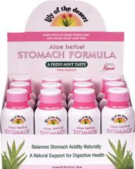 Lily of the Desert Aloe Herbal Stomach Formula Fresh Mint -- 12 Shots
