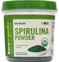 BareOrganics Spirulina Powder Raw -- 8 oz
