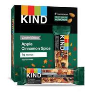 Kind Nut Bar Apple Cinnamon Spice -- 12 Bars