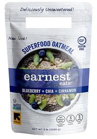 Earnest Eats Superfood Oatmeal Gluten Free Blueberry Chia -- 5 lbs