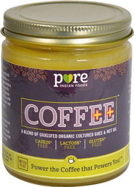 Pure Indian Foods Coffee++ Creamer Cultured Ghee & MCT Oil -- 8.5 fl oz