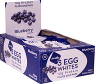 NuGo Nutrition Egg White Fruit and Nut Protein Bars Blueberry -- 12 Bars