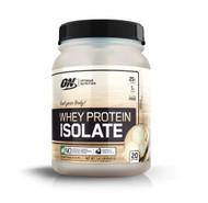 Optimum Nutrition Whey Protein Isolate Vanilla -- 20 Servings