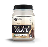 Optimum Nutrition Whey Protein Isolate Chocolate -- 20 Servings