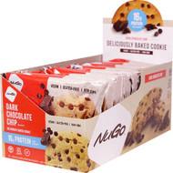 NuGo Nutrition Protein Cookies Dark Chocolate Chip -- 12 Cookies