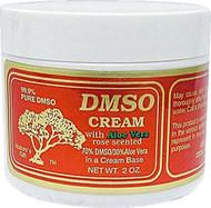 DMSO Cream with Aloe Vera Rose Scented -- 2 oz