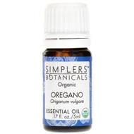 Simplers Botanicals Organic Oregano Essentail Oil -- 0.17 fl oz