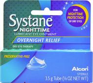 Alcon Systane Lubricant Eye Ointment Nighttime -- 3.5 g
