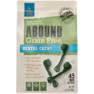 Abound Grain Free Mini Dental Treats for Dogs -- 45 Dog Treats