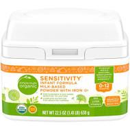 Simple Truth Organic Sensitivity Infant Formula Milk-Based Powder with Iron -- 22.5 oz