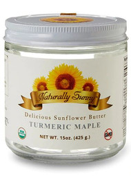 Naturally Sunny Turmeric Maple Sunflower Butter -- 15 oz