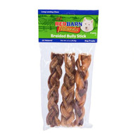RedBarn Naturals Bully Braids 7 Inch Dog Treats -- 3 Dog Treats