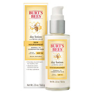 Burts Bees Skin Nourishment Day Lotion with SPF 15 for Normal to Combination Skin -- 2 oz