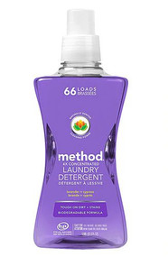 Method 4X Concentrated Laundry Detergent 66 Loads Lavender + Cypress -- 53.5 fl oz