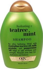 3 PACK of Organix Hydrating Teatree Mint Shampoo -- 13 fl oz