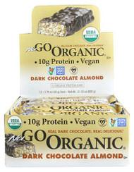 NuGo Nutrition NuGo Organic Bars Dark Chocolate Almond -- 12 Bars