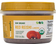 BareOrganics Mushroom Powder - Red Reishi - Lingzhi -- 4 oz