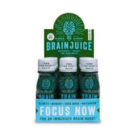 Brain Juice Liquid Nutritional Supplement Caffeine Free -- 2.5 fl oz Each / Pack of 12