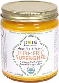 Pure Indian Foods Organic Turmeric SuperGhee Grass Fed -- 7.5 oz