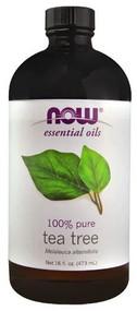 NOW Foods Essential Oils 100% Pure Tea Tree -- 16 fl oz