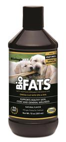 BiologicVET BioFats Fatty Acid Food Supplement for Dogs & Cats Natural -- 12 oz