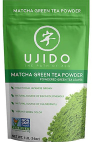Ujido Matcha Green Tea Leaves Powder -- 16 oz