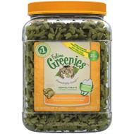Greenies Feline Dental Treats Oven Roasted Chicken -- 21 oz