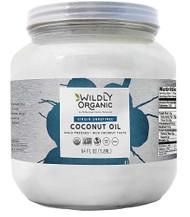 Wildly Organic Virgin Unrefined Coconut Oil -- 64 fl oz